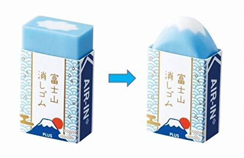 富士山消しゴム 青1個