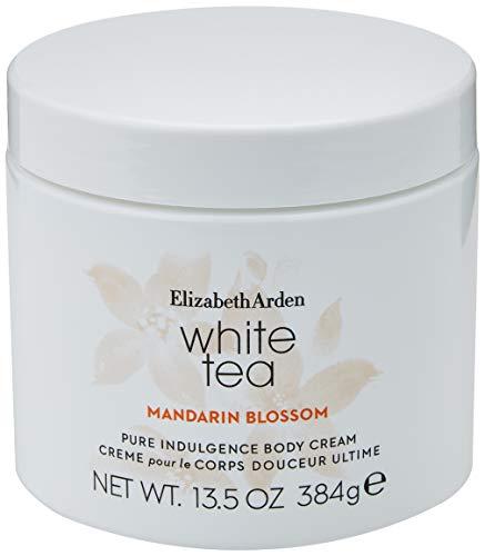 Elizabeth Arden White Tea Mandarin Blossom – Body Cream femme/women, 400 ml, fruchtige Körpercreme mit floraler Note, ausgewählte Inhaltsstoffe & edles Design, pflegende Bodylotion
