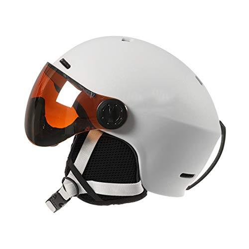 AJAC veiligheidshelm, Snowboard helm, ultra licht, multifunctionele verstelbare helm met bril vizier, CE gecertificeerd voor outdoor fietsen