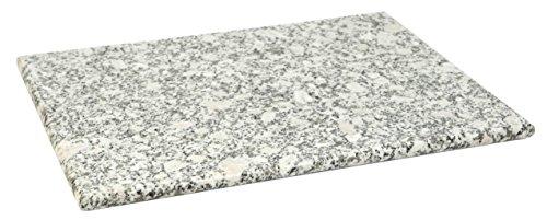 "Home Basics Granite (12"" x 16"", White) Cutting Board"