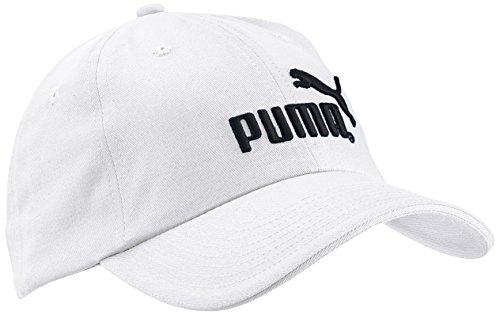 PUMA Essential Cap - Gorra para Hombre, Color Blanco, Talla única