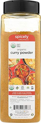 Spicely Organic Curry Powder 16 Oz Certified Gluten Free