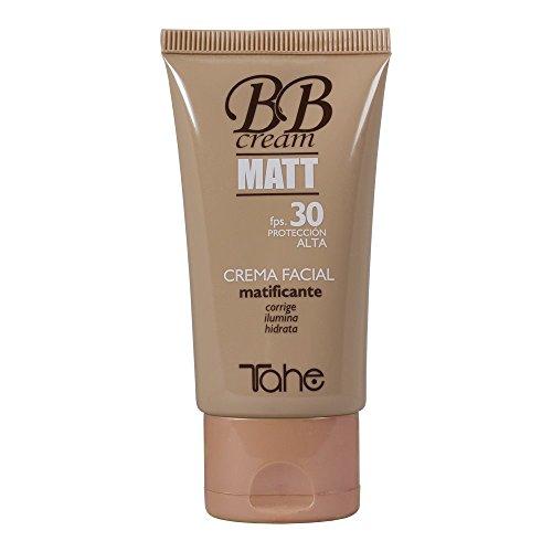 Tahe Bb Cream Matt/Crema Facial Mujer con Color Matificante FPS. 30 - Nº 20, 50 ml
