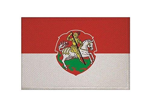 U24 Aufnäher Bensheim Fahne Flagge Aufbügler Patch 9 x 6 cm