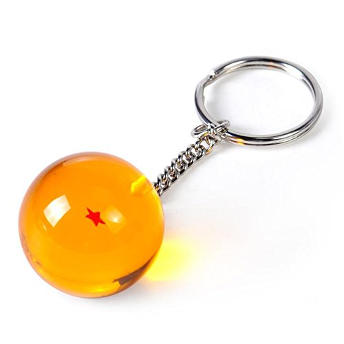 RINE COOOO Acrylic Dragon Ball Z Stars 2.7cm Dragon Ball Super Keychain Pendant -1 Star