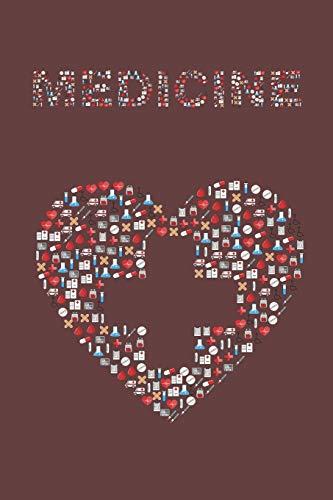 Krankenpflege Notizbuch: mit Linien - Für Krankenschwestern und Pfleger   Geschenk für Pflegekräfte   120 Seiten A5+