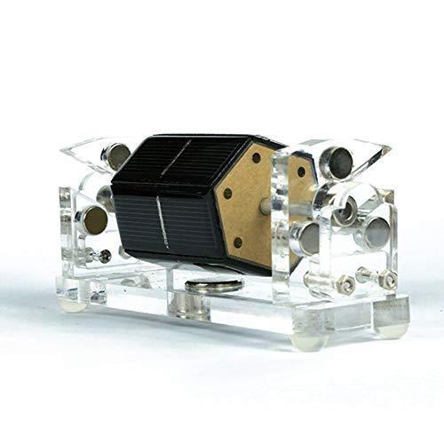 XFY Solar Magnetschwebespielzeug, Hexaedrischer Solar Magnetschwebebahn, Experimentelles Modell des Physikunterrichts, DIY Pädagogische Spielwarengeschenke der Kinder