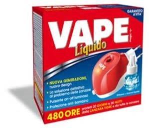 Vape Elettroemanatore Liquido 60 notti +1Ric.