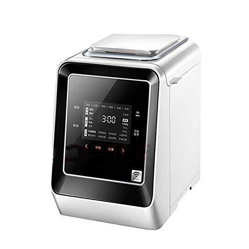 Multifunktional Brotbackautomat,Vollautomatischer Programmierbar Frühstücksmaschine 18 Programme 13 Stunden Delay Timer DIY Brotbackmaschinen