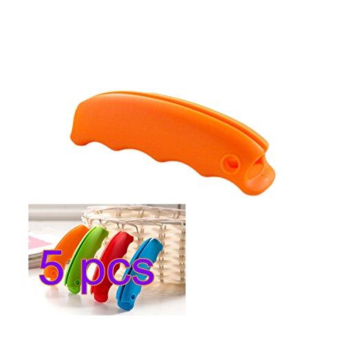 One Trip Grip BESTOMZ Griff für Einkaufstaschen, 5 Stück (zufällige Farbe)