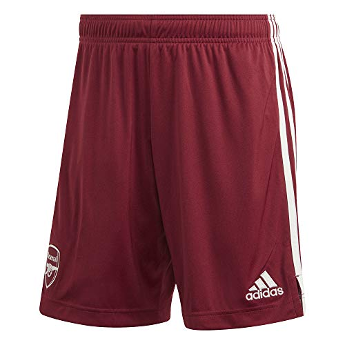 adidas Herren Arsenal FC Away Short 2020/21, Noble Maroon/Cloud White, XS