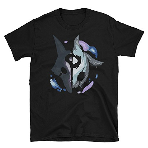 RedSociety League of Legends Kindred Unisex T-Shirt & E-Book Black