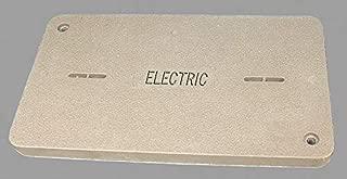 Quazite PG Underground Enclosure Cover, Electric, For Use With 19-1/4 x 32-1/4 Enclosure - PG1730CA0017
