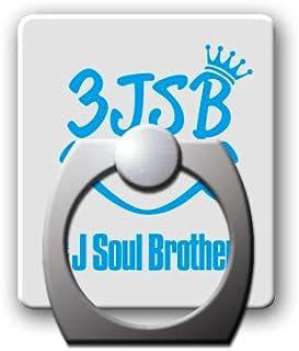 スマホリングスタンドホルダー 【3JSB】 白/カラー 002