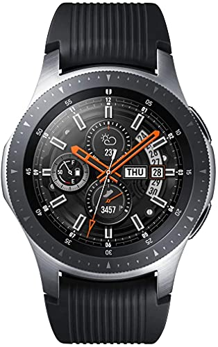 Samsung Galaxy Watch reloj inteligente Plata SAMOLED 3,3 cm (1.3') GPS (satélite) - Relojes inteligentes (3,3 cm (1.3'), SAMOLED, Pantalla táctil, GPS (satélite), 168 h, Plata)