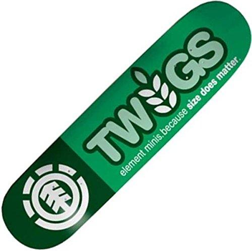 Twig Logo Element-Tavola da Skateboard Thriftwood 18,10 (7,125') 1T cm