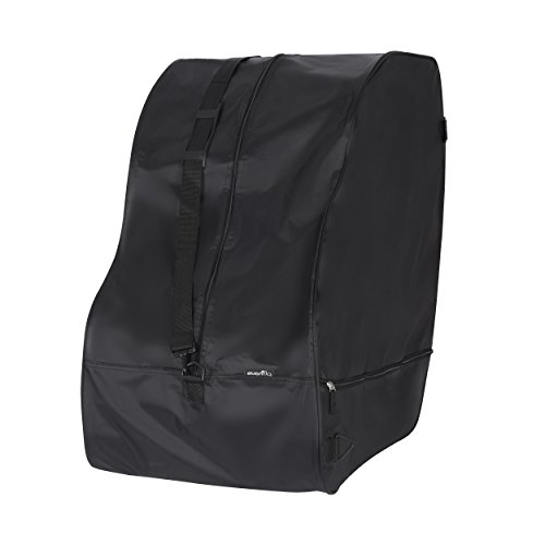 Bolsa de viagem e bolsa de armazenamento, universal para todos os assentos de carro Evenflo®, preta
