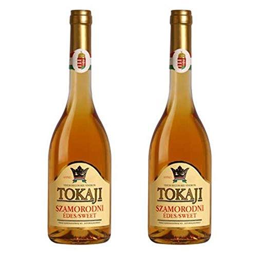 2 Botellas Tokajier Szamorodni dulce 0,5l