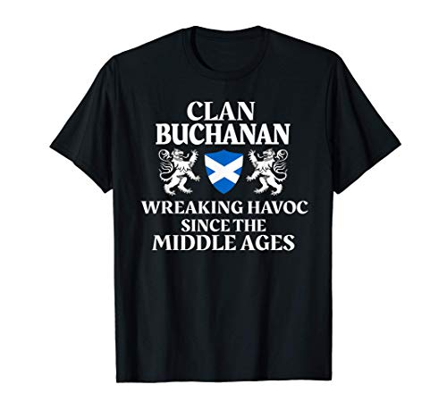 Buchanan Scottish Family Clan Scotland Name T-Shirt