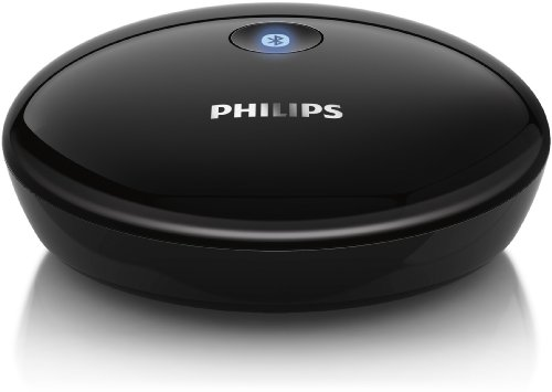 Philips AEA2000/12 - Adaptador de audio (Adaptador Hi-Fi Bluetooth), negro