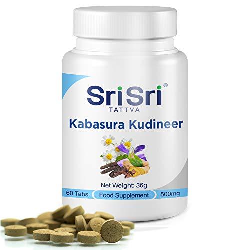 Sri Sri Tattva Kabasura Kudineer Immunity Booster - Respiratory Ailments (60 Tabs)