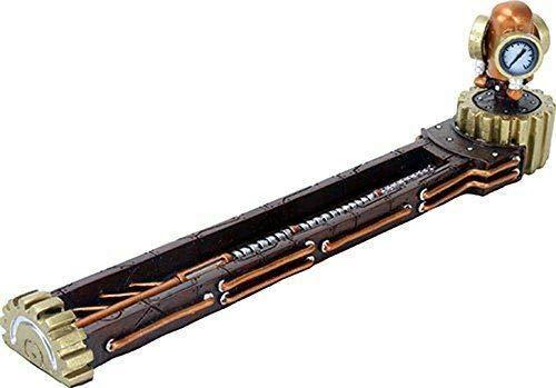 2.75 Inch Steampunk Mechanic Metal Gadget Incense Burner Decoration - Favorite Decor Store