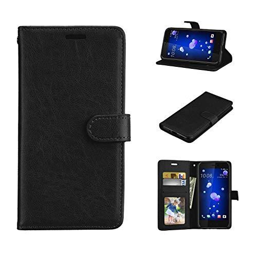 Cover Nokia Lumia 520 / Lumia 525, Custodia d'Affari in Pelle Basamento Protettiva Case Cover per Nokia Lumia 520 / Lumia 525 [Nero]