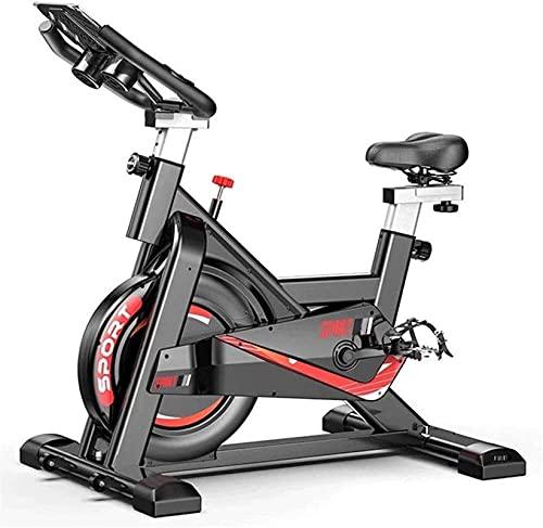 DJDLLZY Bicicleta de Spinning de Interior Ciclismo Indoor Serie de Bicicleta hogar Tranquilo de Bicicleta de Ejercicios/Oficina/Bicicletas aparatos de Gimnasia, Carga máxima 200 kg