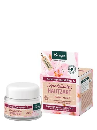 Kneipp Nachtcreme Mandelblüten Hautzart, 50 ml