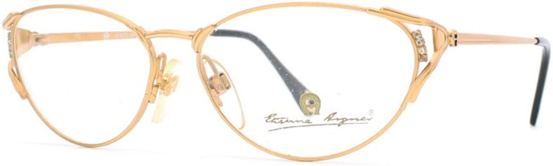 Etienne Aigner 76 30 gold Authentic Women Vintage Eyeglasses Frame