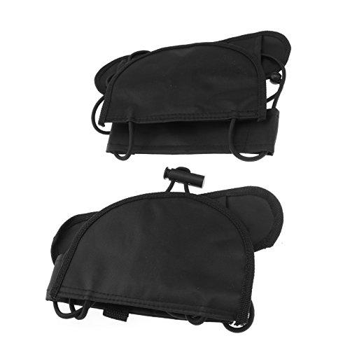 OTOTEC 2 x verstelbare 55cm bagage koffer riem tas riem dragen op Bungee Travel zwart