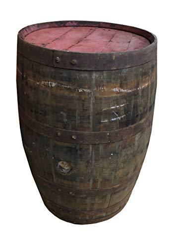 NHF Whiskyfass als Stehtisch Eichenfass gebraucht Tischfass Holzfass rustikal Deko Fass Größe unbehandelt