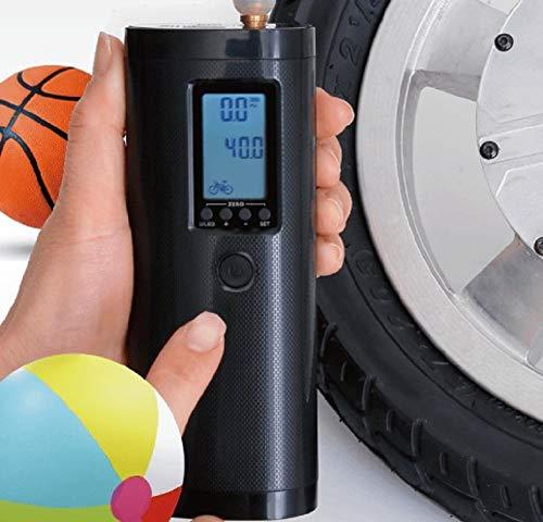 ポータブル充電式電動エアポンプ(電動モバイルポンプ・スマートエアーポンプ)、快適なコードレス充電式電動空気入れ・ボールポンプ)ELXEED-AP2