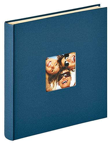 Walther Design SK-110-L Album Autoadesivo Fun, Carta, Blu, 33 x 34 cm