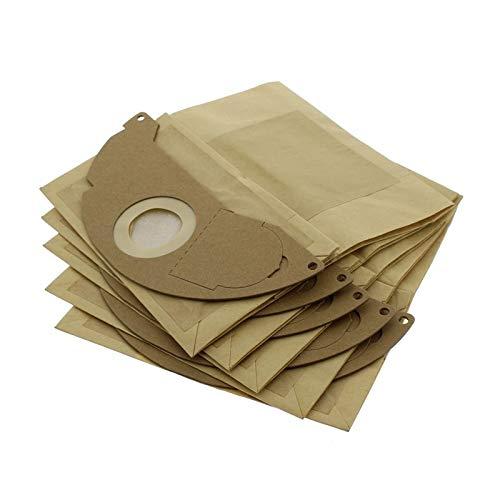 Find A Ersatz-Staubbeutel für Kärcher-Staubsauger, doppellagig, 5 Stück