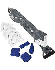 lefeindgdi Grout Schraper Kit, verwijdering Home Kit 5-in-1 Grout Schraper Grout Smoother Set, Duurzaam Calking Sealant Tool voor tegels Keuken Badkamer Vloer