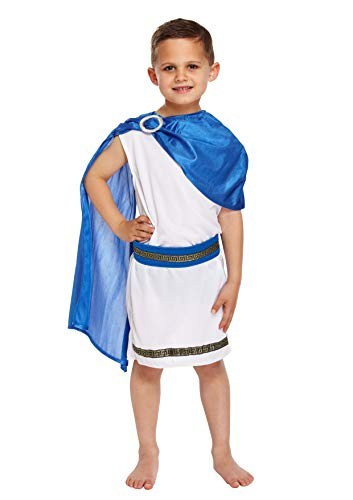 Boys Costume : Caesar (Large 10 – 12 years) (Déguisement)