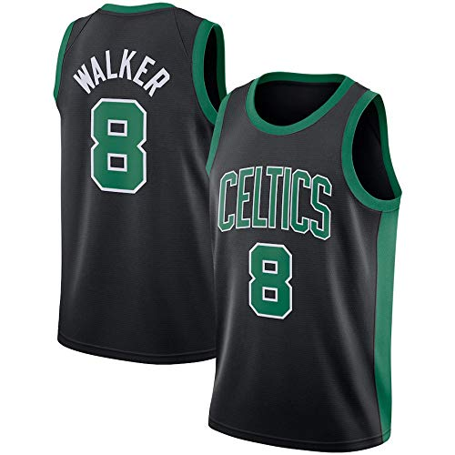 Camisetas De La NBA para Hombre, Boston Celtics NBA 8# Camisetas De Baloncesto Kemba Walke - Camiseta Cómoda Unisex con Chaleco Deportivo De Baloncesto,M(170~175CM/65~75KG)