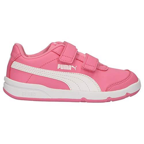 Zapatillas Deporte de Niño y Niña PUMA 192522 STEPFLEEX 11 Pink-White Talla 35