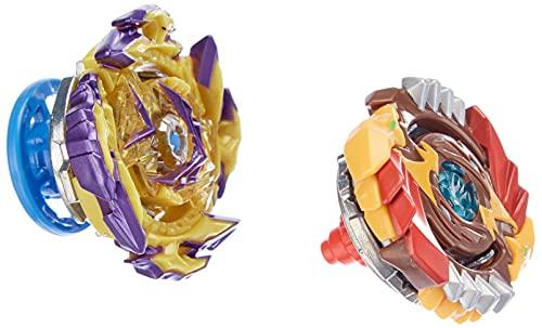 Beyblade Burst Surge, Pack de 2 toupies de compétition Speedstorm Spear Valtryek V6 et Regulus R6, Jouet pour Enfants, dès 8 Ans