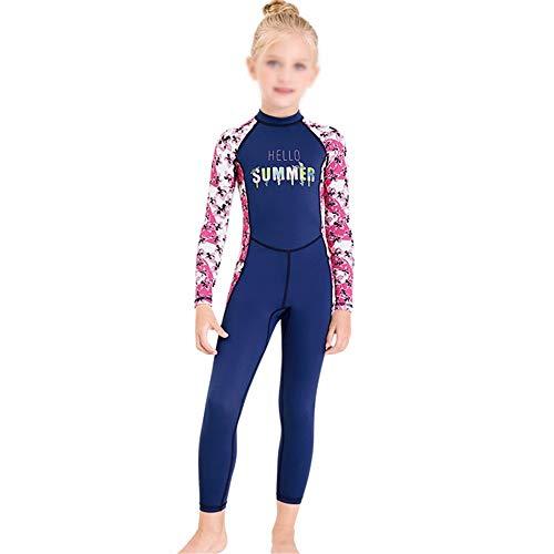 HO-TBO Kinderduikpak, Kinder Eendelig Zonnezeil met lange mouwen Zwemkleding Sneldrogend Wetsuit Voor Duiken Ideaal voor Duiken Beginners