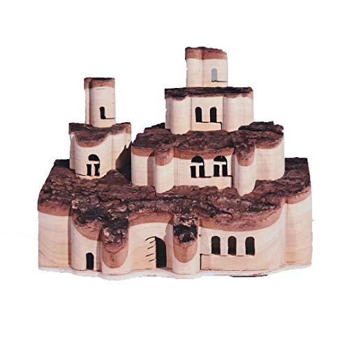 Hölzernes Schloss verformtes