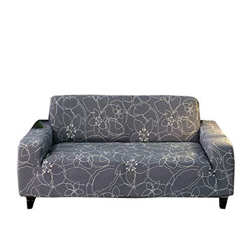 Funda de sofá elástica estampada para sofá o sofá de sofá a prueba de polvo para la decoración del hogar
