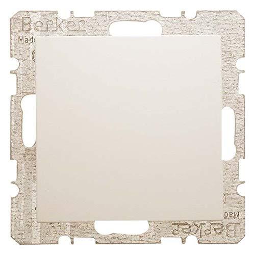 Hager 6710098982 Wandplatte/Schalterabdeckung Weiß - Wandplatten & Schalterabdeckungen (Weiß, Metall)