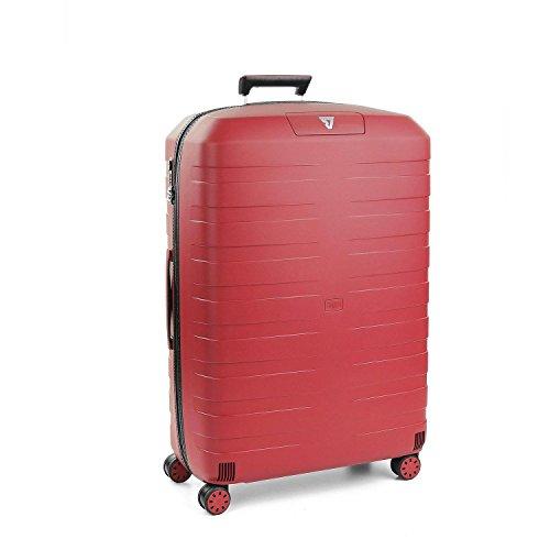 Roncato Box 2.0 Maleta Grande Negro/Rojo, Medida: 78 x 50 x 30 cm, Capacidad: 118 l, Pesas: 3.80 kg