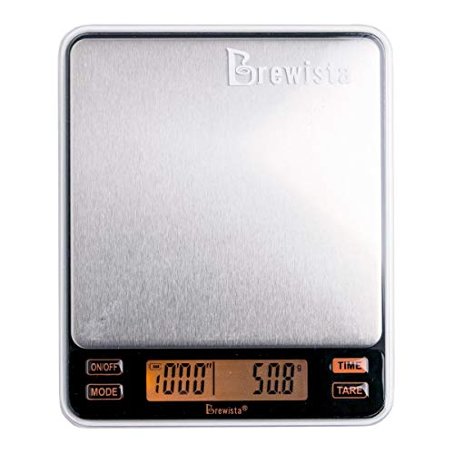 Brewista Smart Scale II for Espresso and Kitchen scale - 2000 grams (BSSRB2)