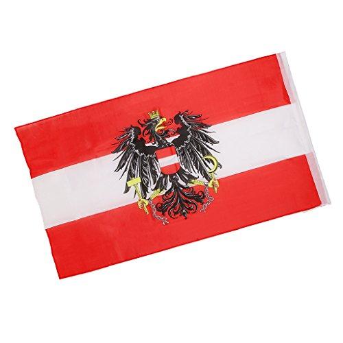 Fahnen Länderflaggen Land Nationale Banner 90 X 150 cm - Österreich Nationalflagge