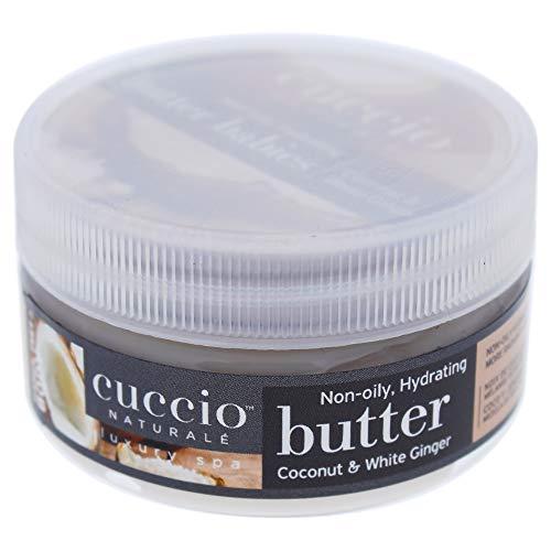Cuccio Beurre de noix de coco et de gingembre blanc 42,5 g