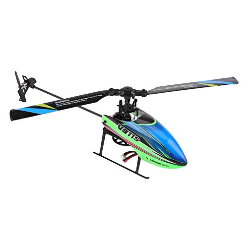 Dilwe Remote Control Helicopter Toy, WLtoys V911S 4channels6G RC Airplane 6-axle Gyro Plane, Birthday Present for Kids Boys Girls
