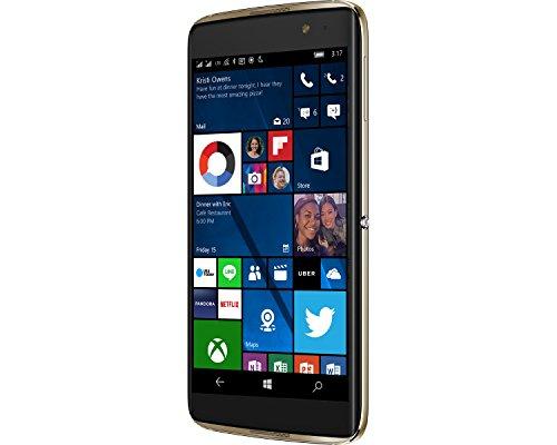 Alcatel Idol 4S Windows 10 OS 5.5 Inch FHD GSM Unlocked 64GB 21MP Camera Smartphone with Advanced Security Fingerprint Scanner